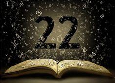 Anioł liczby 22