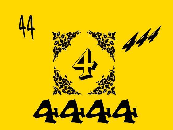 aniol liczby 44 ß
