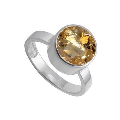 pierścień z cytynem