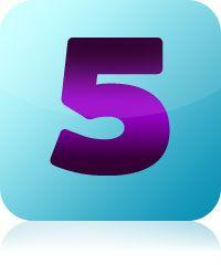 aniol liczby 5