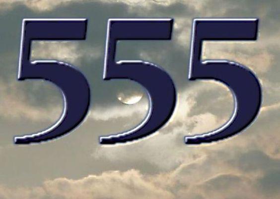 Aniol liczby 555