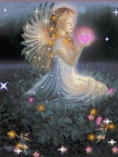 aniol kwiatu 18