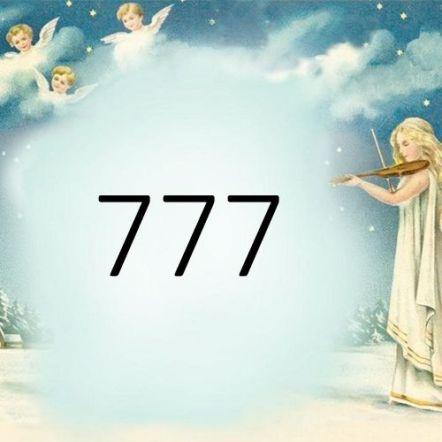anielska liczba 777