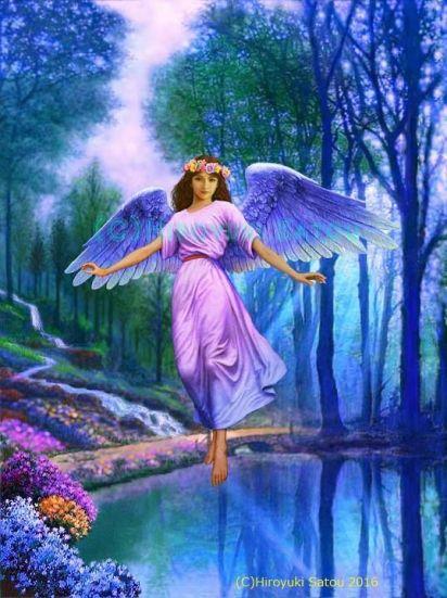 aniol kwiatu 1