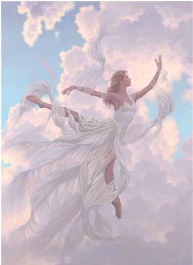 aniol kwiatu 17