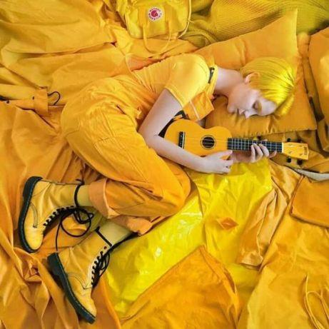 kolor żółty 5