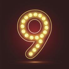 aniol liczby 9
